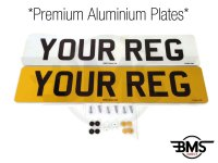 Premium Car Number Plates DVLA / MOT Legal UK Front & Rear