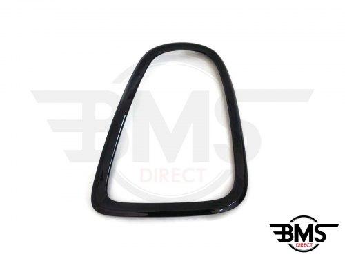 One / Cooper / S Blackline Rear Light Surround / Bezel Trim O/S R55 R56 R57