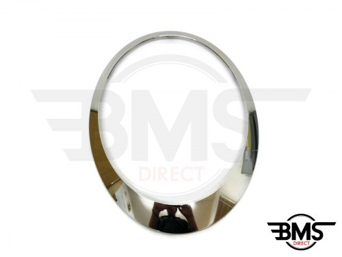 One / Cooper / S Chrome Headlight Surround / Bezel Trim N/S R55 R56 R57