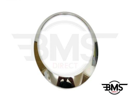 One / Cooper / S Chrome Headlight Surround / Bezel Trim O/S R55 R56 R57