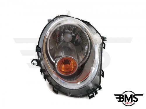 One / Cooper / D / S Headlight With Amber Indicator O/S R55 R56 R57
