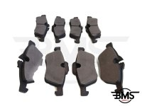 One / Cooper / Cooper S Front & Rear Full Set Of Brake Pads R50 R52 R53