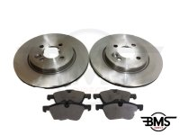 One / Cooper / Cooper S Set Of Rear Brake Discs & Pads R50 R52 R53