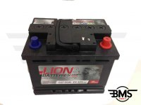One / D / Cooper / S Car Battery Lion 027 12V 60AH R50 R52 R53