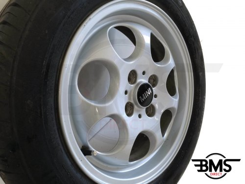 15 Inch Pepper Pot 7 Hole Alloy Amp Tyre R50 R56 Bms