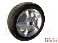 "16"" Silver 5 Spider Spoke 83 Alloy Wheel & Tyre R50 R52 R53"