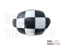 One / Cooper / S/D Check Wing Mirror Backing/Cap/Cover O/S R55 R56 R57 R58 R59 R60 R61