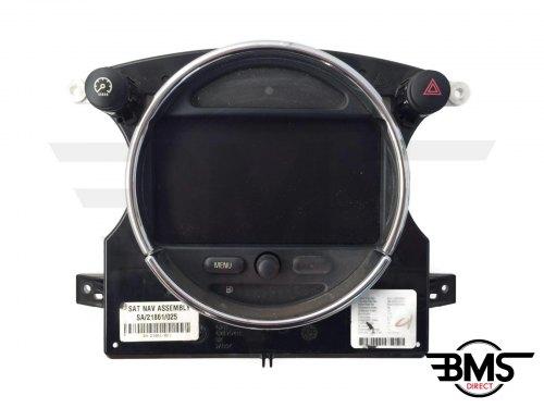 One / Cooper / Cooper S Sat Nav Display Screen Unit R50 R52 R53