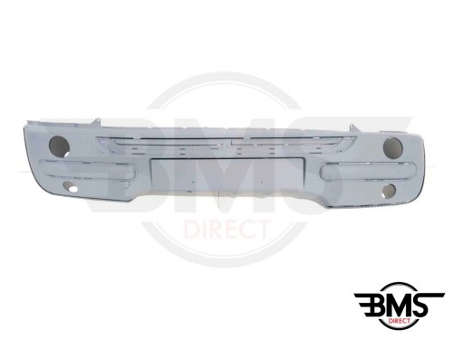 One / Cooper Pre-Facelift Front Bumper To Take Chrome Mouldings R50