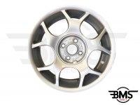 """Refurbished BMW MINI 16"""" Silver R84 Cross Spoke Alloy Wheel / Rim R50 R52 R53"""