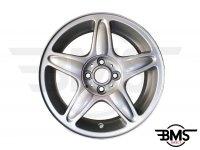 """Refurbished BMW MINI 16"""" Silver R103 Blaster Spoke Alloy Wheel / Rim R50 R52 R57"""