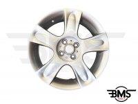 """Refurbished BMW MINI 17"""" Silver R91 Bullet Spoke Alloy Wheel / Rim R50 R52 R53"""