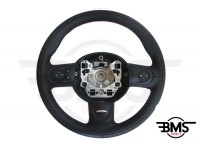 One / Cooper / S / D 3-Spoke Leather Steering Wheel Multifunction John Cooper Works R55 R56 R57