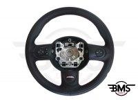 One / Cooper / S / D 3-Spoke Leather Steering Wheel Multifunction John Cooper Works R55 R56 R57