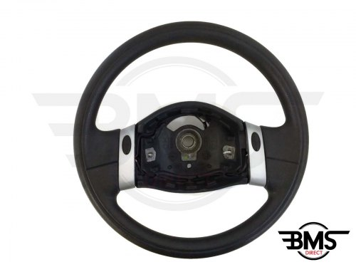 One / Cooper / S / D 2-Spoke Plastic Steering Wheel R50 R52 R53