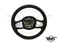 One / Cooper / S / D 2-Spoke Leather Steering Wheel w/Silver R55 R56 R57 R58 R59 R60 R61