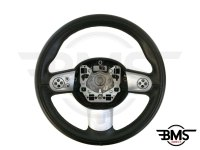 One / Cooper / S / D 3-Spoke Leather Multifunction Steering Wheel R55 R56 R57