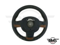 One / Cooper / S / D 3-Spoke Brown Multif. Steering Wheel R50 R52 R53