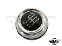 One / Cooper / S / D 6-Speed Leather Gearknob Grade B R55 R56 R57 R58
