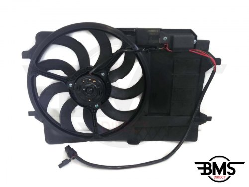 One / Cooper / S Radiator Fan & Housing Assembly R50 R52 R53