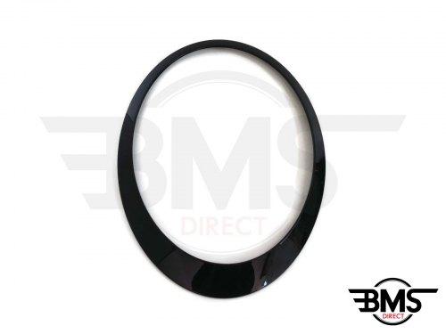 One / Cooper / S Blackline Headlight Surround / Bezel Trim O/S R55 R56 R57