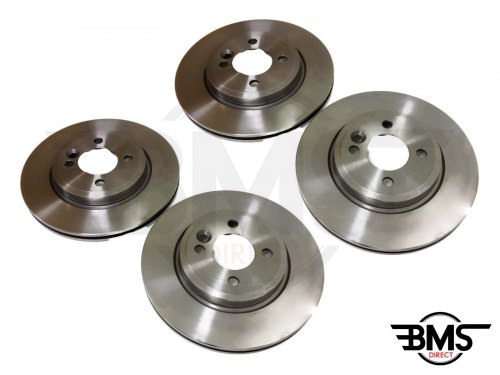 One / Cooper / Cooper S Set Of Front and Rear Brake Discs R50 R52 R53