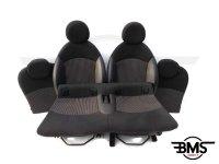 One / Cooper / D / S Half Leather Sports Interior Carbon Black R56