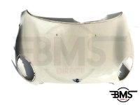 One / Cooper Petrol Bonnet In Pepper White R56 R55 R57