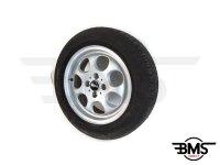 One / Cooper R81 15 Inch 7-Hole Pepper Pot Alloy Wheel & Tyre R50 R52 R53 R55 R56 R57 R58 R59