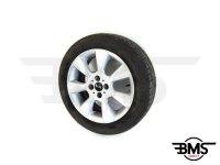 One / Cooper R92 16 Inch 7-Fin Alloy Wheel & Tyre R50 R52 R53