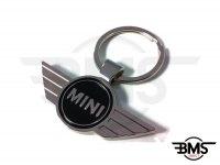 Genuine MINI Badge Metal Keyfob / Keyring
