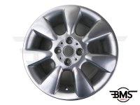"""Refurbished 16"""" Silver R92 7-Spoke Fin Alloy Wheel / Rim R50 R53 R56"""