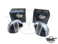 One / Cooper / S Blackjack Wing Mirror Covers / Caps F55 F56