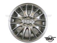 """New 17"""" R114 Cross Spoke Alloy Wheel in Titanium Grey R55 R56 F56"""